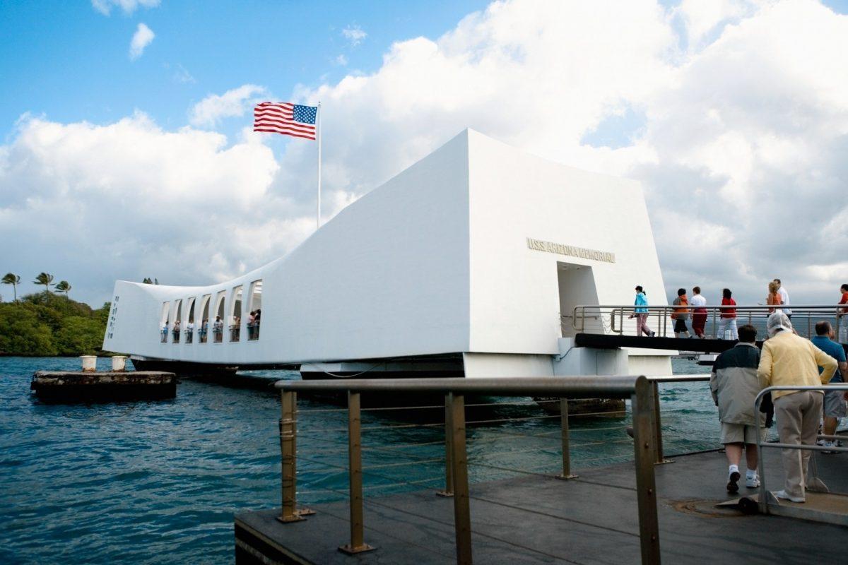 Pearl Harbour and USS Arizona Memorial, Honolulu