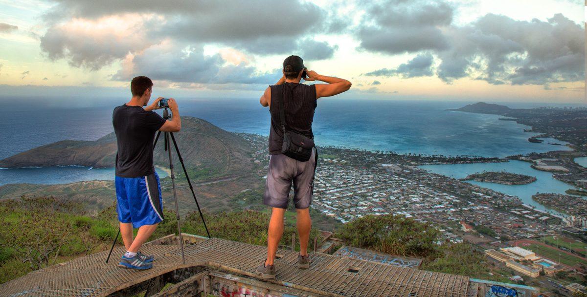 Koko Crater Trail on Honolulu