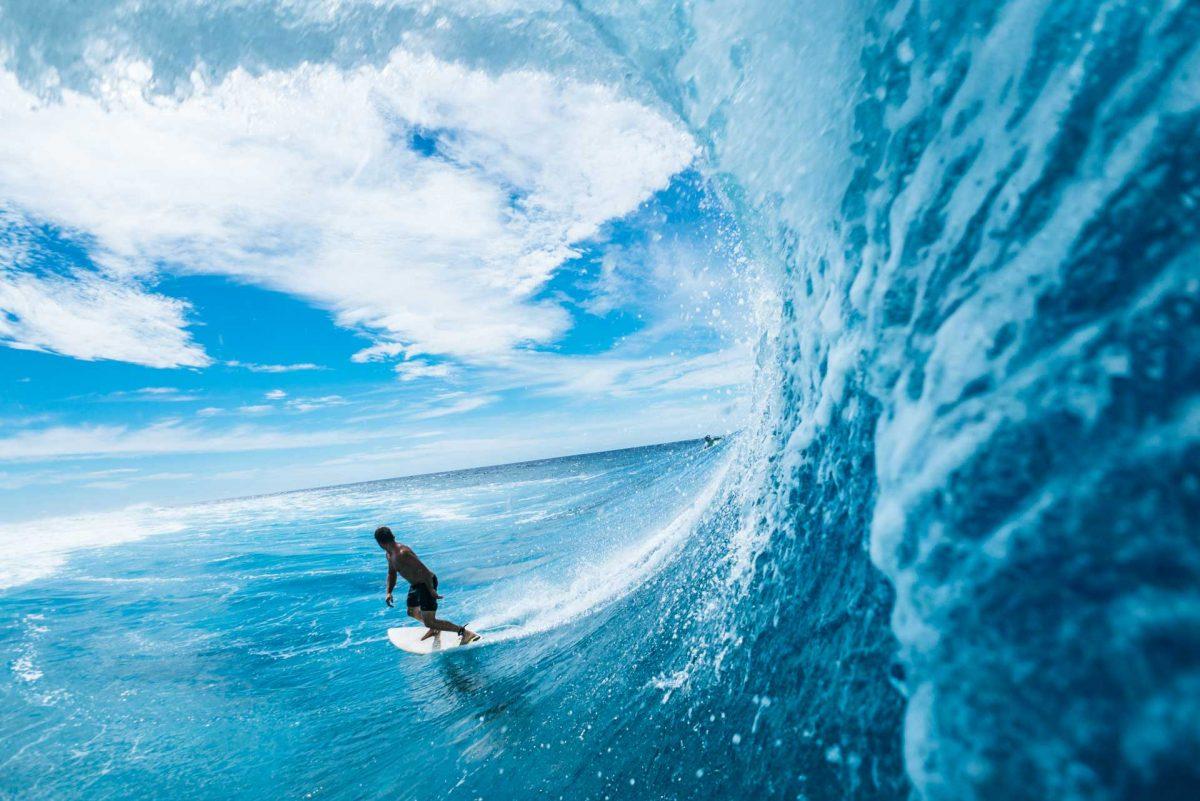 surfing at Ala Moana