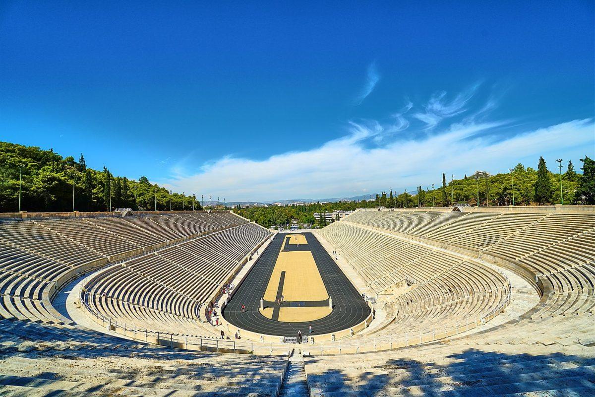 Old Olympic Panatheniac Stadium in Athens