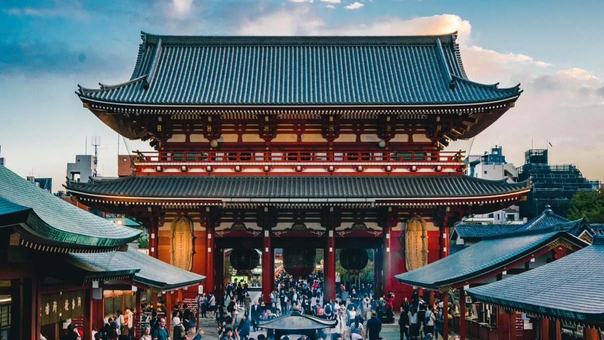 Temples in Tokyo's Heritage Asakusa District
