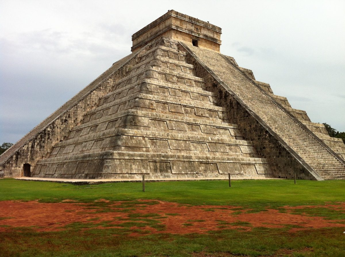 Chichen Itza, one of the most visited archaeological sites in Mexico.