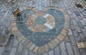 Heart of Midlothian, Edinburgh, Scotland