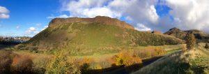 Extinct Volcano, Arthurs Seat, Edinburgh, Scotland