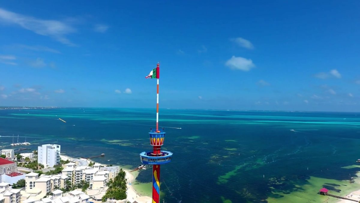 Cancun Scenic Tower in Cancun City, Mexico