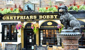 Greyfriars Bobby, Edinburgh, Scotland
