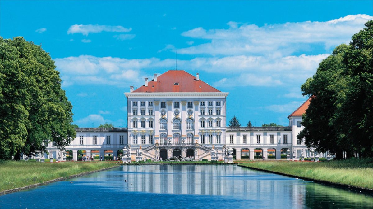 The Nymphenburg Palace is one of Germany's largest Baroque palaces with a grand English style park