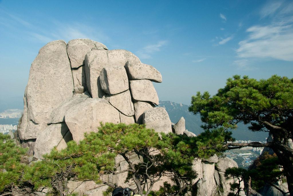 Bukhansan National Park Seoul