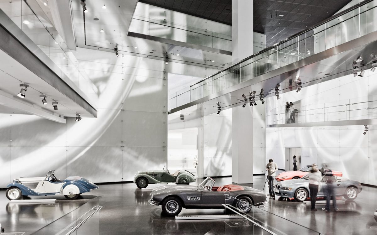 Come to BMW Museum to see its rare cars and motorcycles as well as vintage BMW models