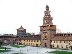 Castello Sforzesco, Leonardo Da Vinci, Michaelangelo's, Legacies, Milan, Italy
