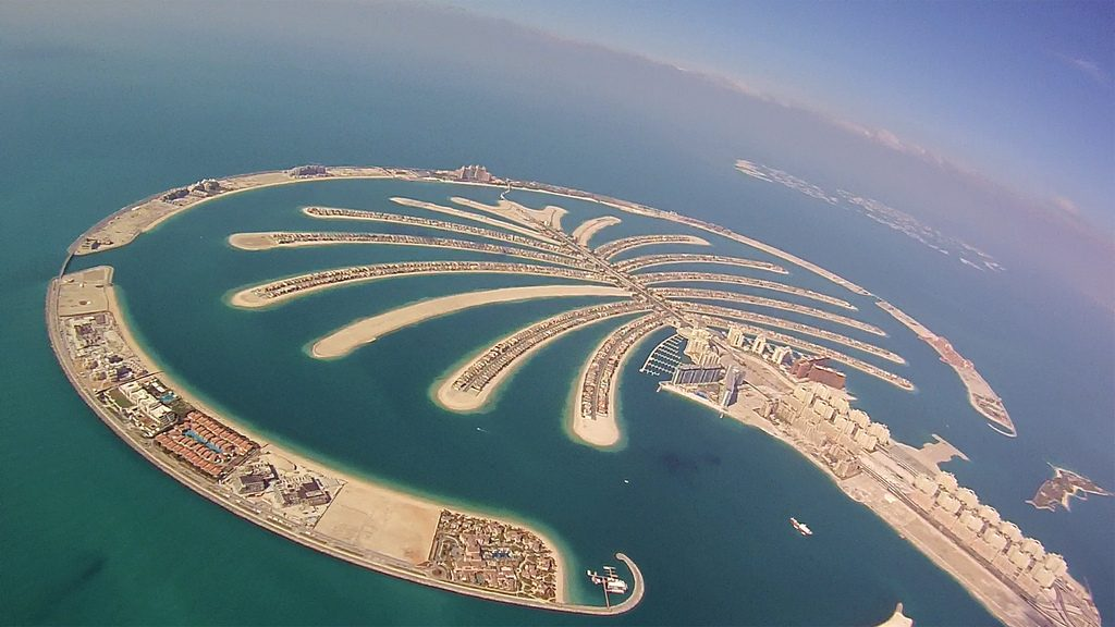 Palm Jumeirah From The Top