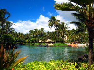 Grand Hyatt Saltwater Lagoon, Kauai, Hawaii