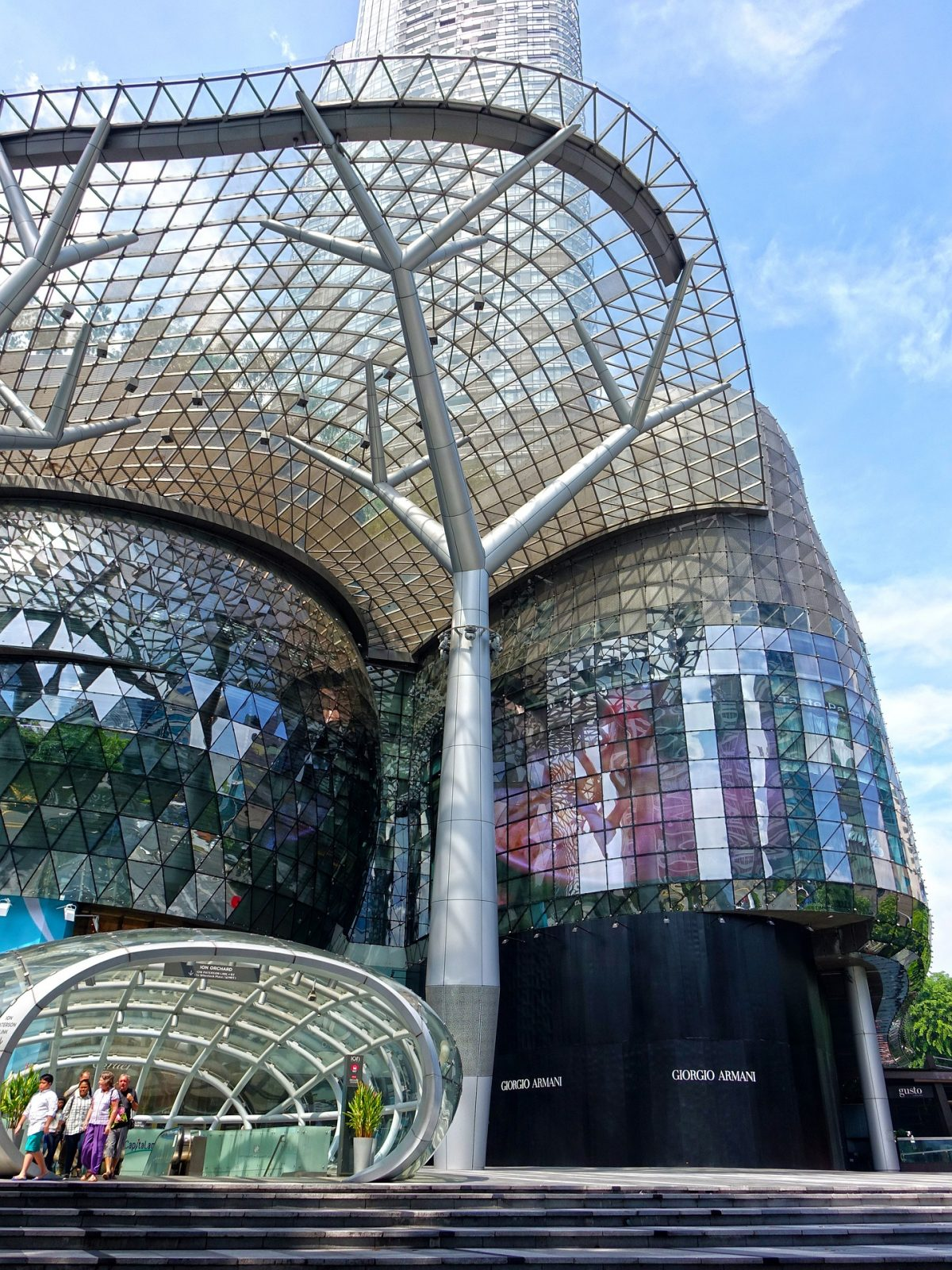 Ion Orchard Mall on orchard Road in Singapore