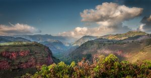 Kauai Hawaii Canyon Majestic Scenic