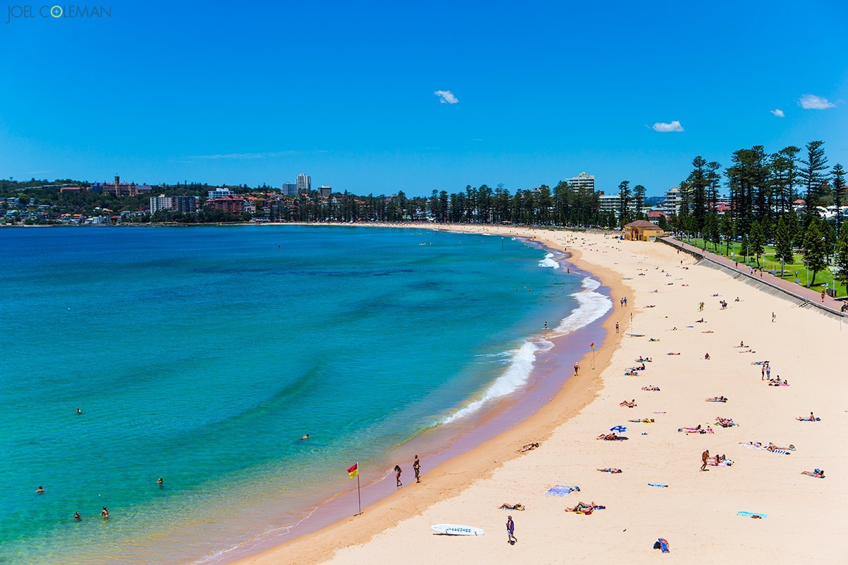 Manly Beach Joel Coleman Photography