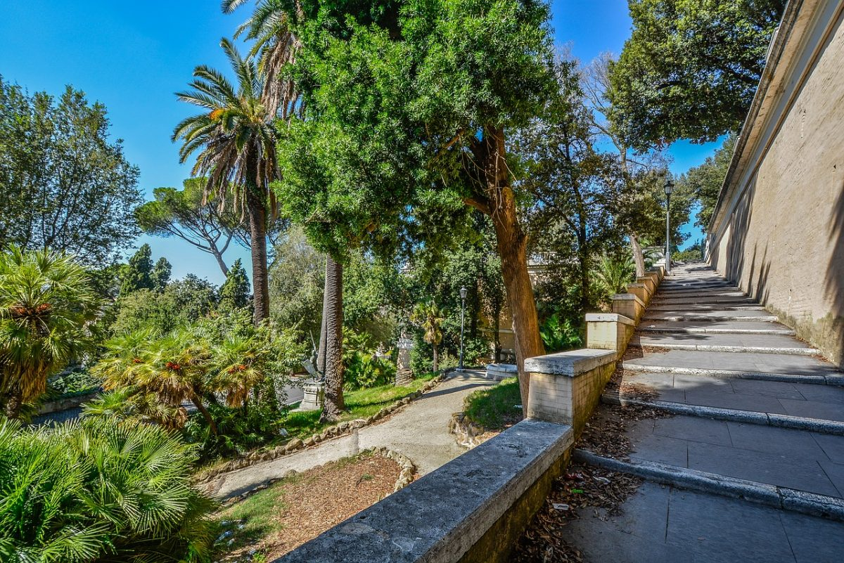 Borghese Rome Gardens in Italy