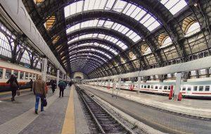 Stazione Centrale Milano, Central Station Milan, Milan, Italy