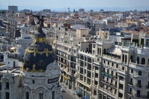 The city of Madrid