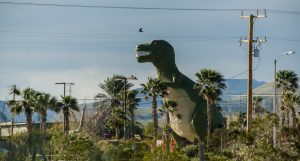 Cabazon Dinosaur Museum, Roadside attraction, Palm Springs, California