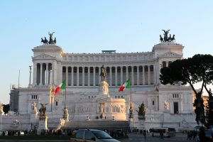 The Altar of Fatherland Rome
