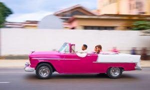 Classic cars, Classic car tour, Havana, Cuba