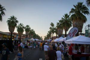 Palm Springs Night Market, Palm Springs VillageFest, California