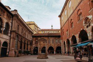 Piazza Mercanti, Duomo, Merchant's Plaza, Milan, Italy