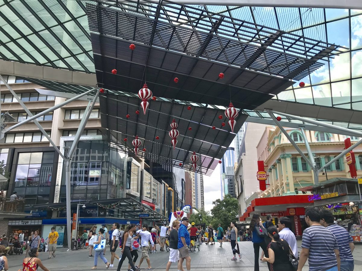 Queen Street Mall 1 - Things To Do In Brisbane, Queensland, Australia