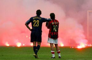 Inter Milan's Marco Materazzi, AC Milan, San Siro Stadium, Milan, Italy