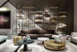Salone del Mobile, Milan Furniture Fair, Milan, Italy