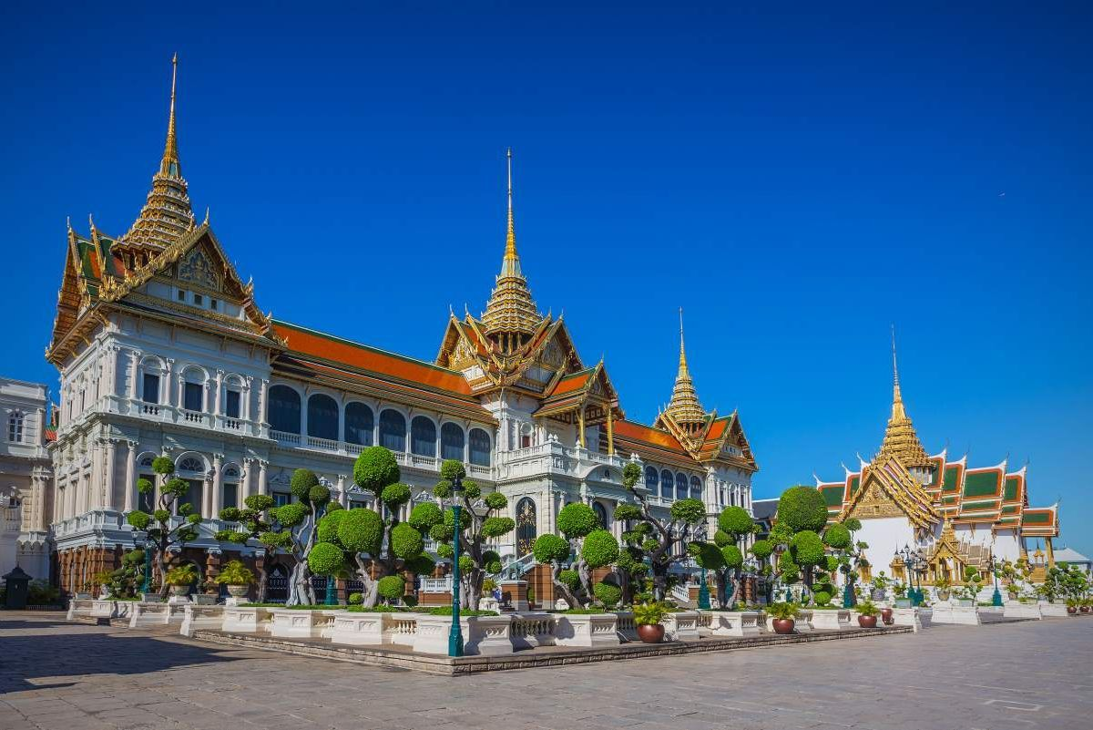 The grand Palace Bangkok, Thailand