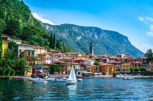 Varenna Village, Lake Como, Lombardy, Milan, Italy