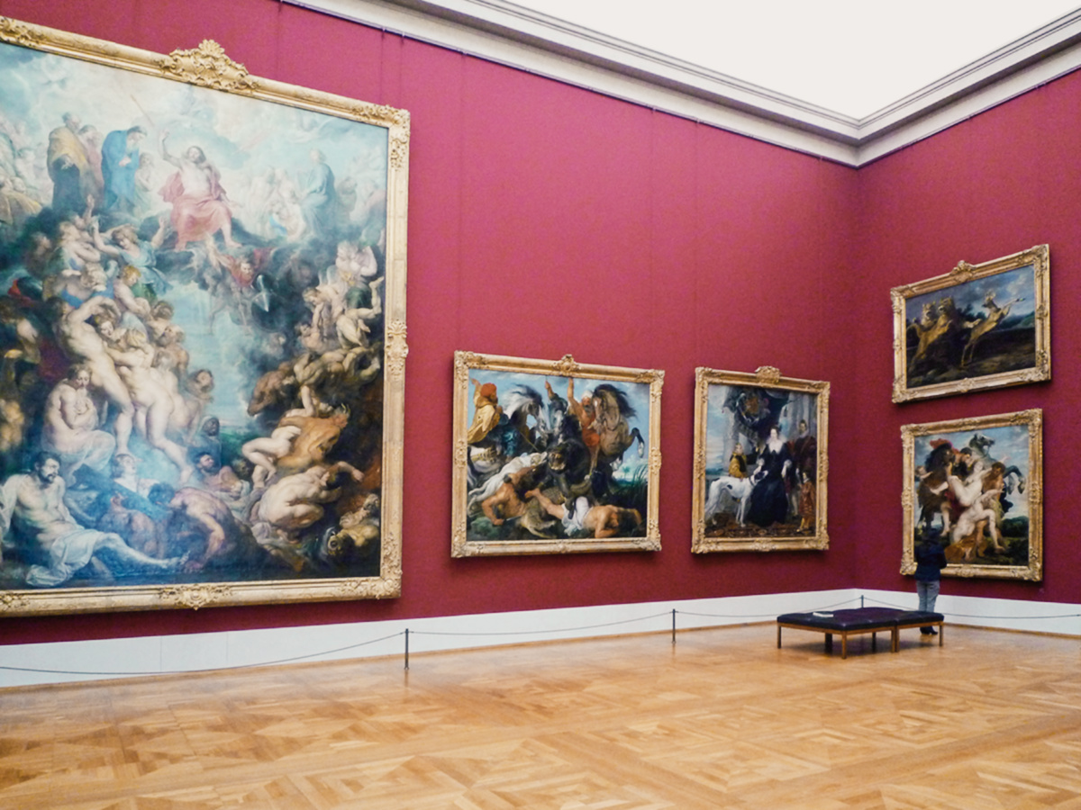 Alte Pinakothek the Old Picture Gallery is one of the most important galleries in the world for Old Master paintings and medieval paintings