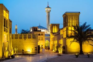 The old Dubai, Bastakia