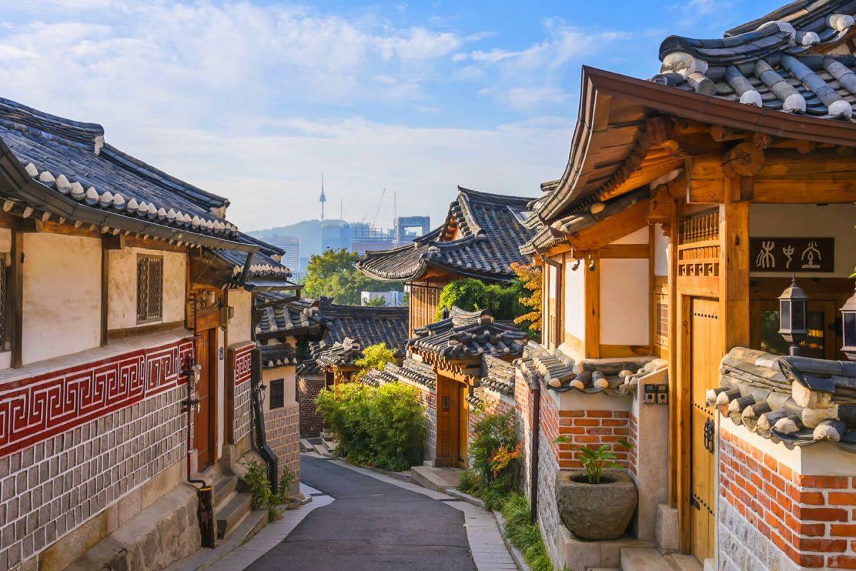 Bukchon Hanok Village, Seoul