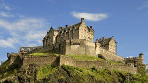 The Edinburgh castle, Scotland
