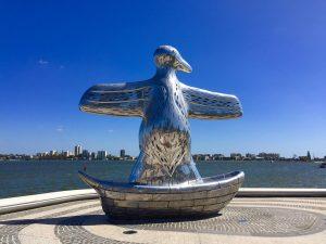 Elizabeth Quay Sculpture Perth, Western Australia