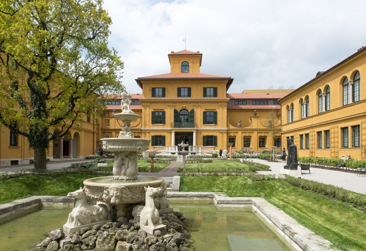 The Lenbachhaus Museum is an Italianate Villa housing turned into a gallery containing a variety of works by Munich painters and contemporary artists