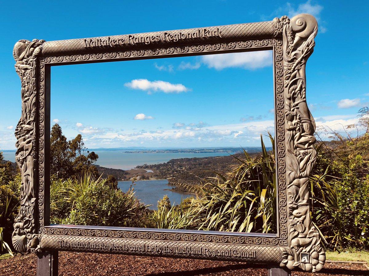 Golden Frame at Arataki visitor centre, Auckland