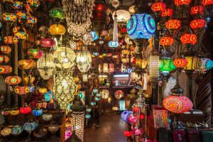 The lovely Grand Bazaar, Istanbul