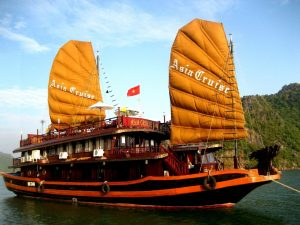 The Halong Bay Cruise, Vietnam