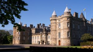 Beautiful Holyrood Palace, Edinburgh, Scotland