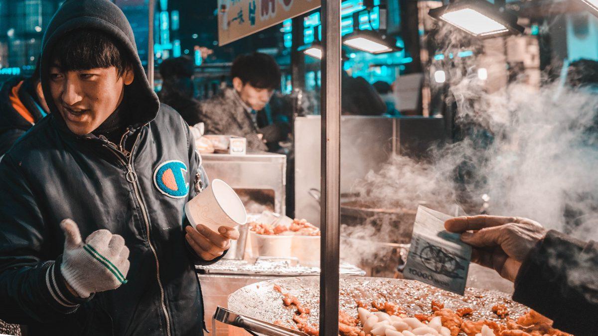 Myeongdong in Seoul