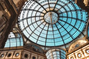 Galleria Vittorio Emanuele II, Living Room Of Milan, Milan, Italy, Shopping Arcade