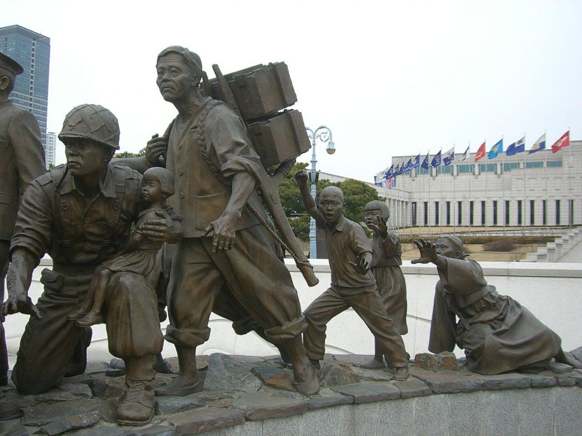 The War Memorial Of Seoul Korea