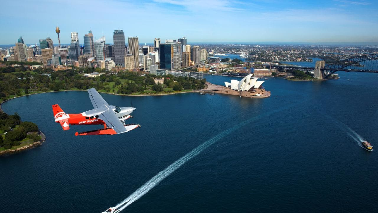 Tour on a a Waterplane by Sydney Seaplanes at Rose Bay