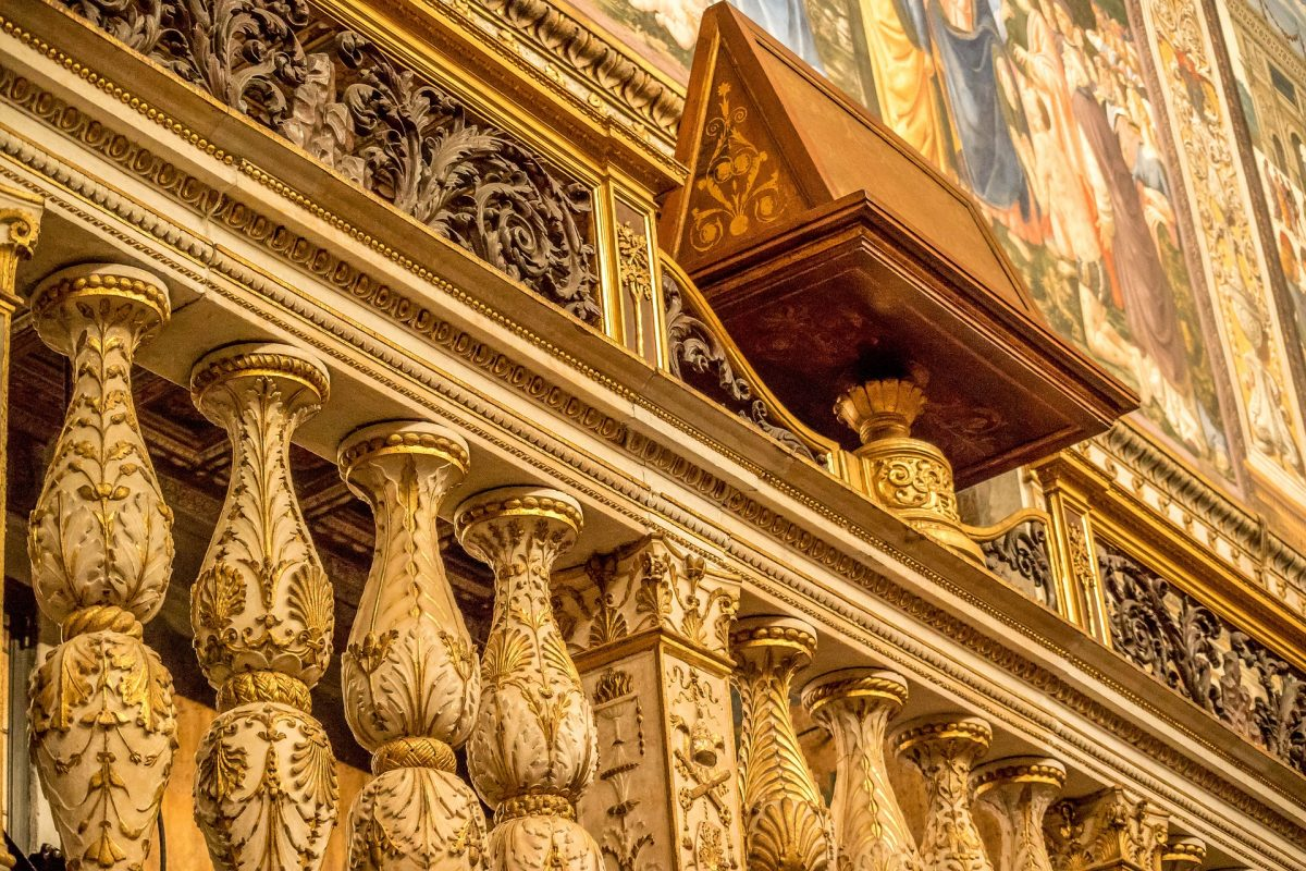 Sistine Chapel in Rome, Italy