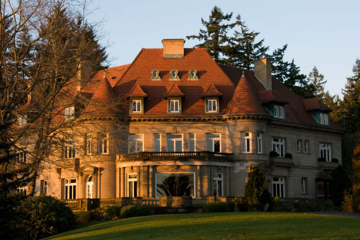 The Pittock Mansion in Portland