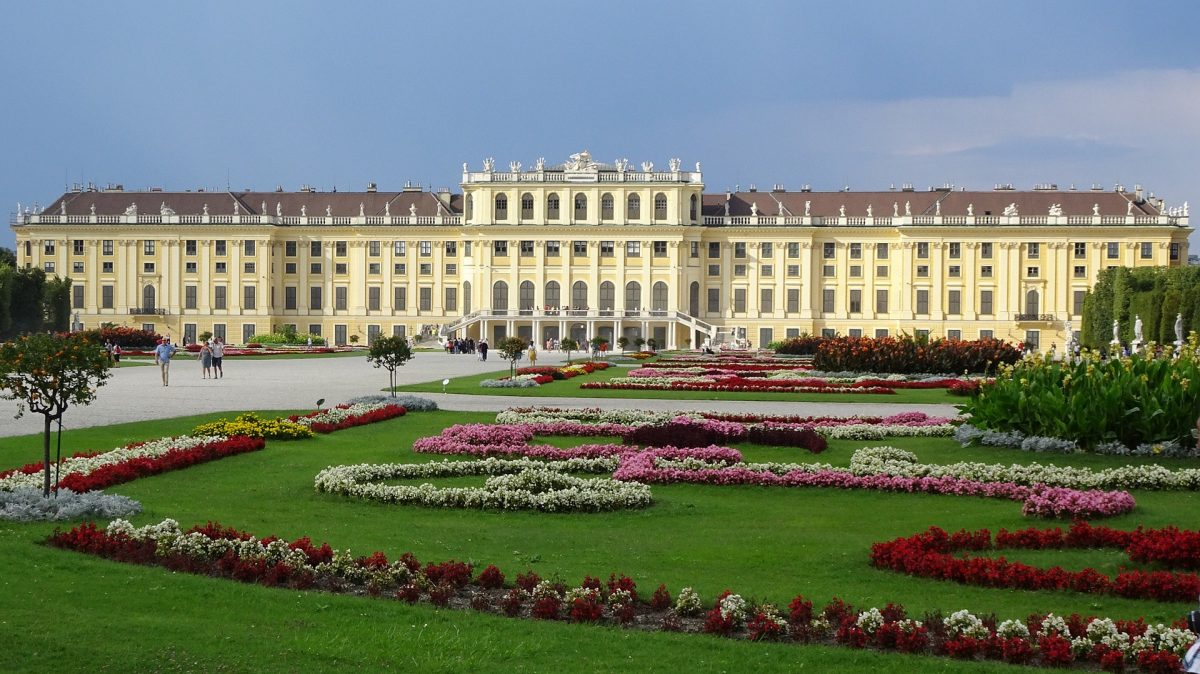 Once a hunting lodge, Schonbrunn Palace is an iconic symbol of Vienna filled with stunning architecture