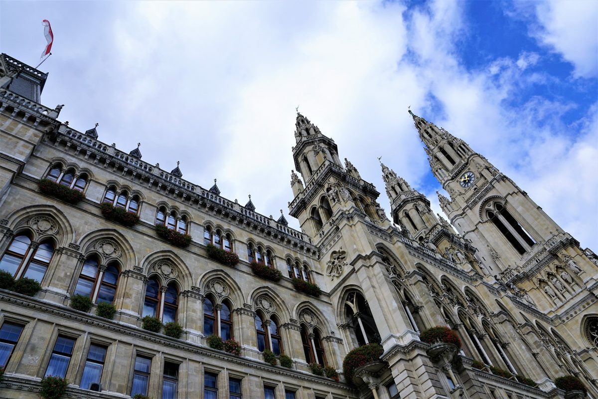 Built in the 19th century in a Neo-Gothic style, Vienna City Hall served as the office of the Mayor of Vienna